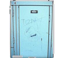 Tony's Locker... or Is It? iPad Case/Skin