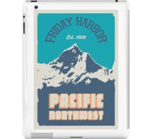 Friday Harbor.  iPad Case/Skin