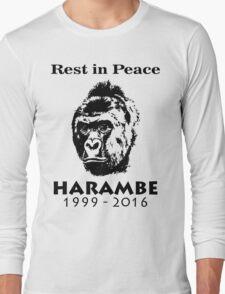 Rip Harambe Long Sleeve T-Shirt