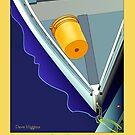 Yellow Bucket, Wiscasset,  by Dave  Higgins