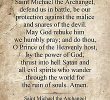 Saint Michael the Archangel by morningdance