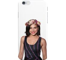 Lana Parrilla Flower iPhone Case/Skin