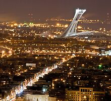 Montreal Night by Michael Vesia