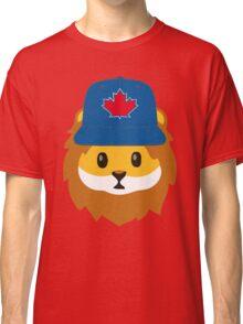 Full Print - Blue Jays No Fear Lion Emoji Classic T-Shirt