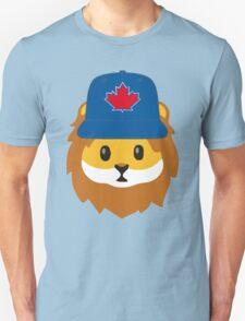 Full Print - Blue Jays No Fear Lion Emoji Unisex T-Shirt