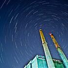 Star Trails #1 by Michael Vesia