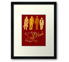 Four Marauding Marauders Framed Print