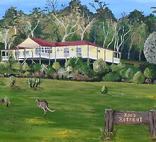Roo's Retreat for cards by Nicola Morgan