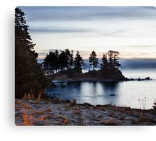 Winter Seascape in Alaska  Canvas Print