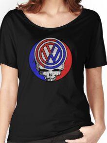 VW Skull Women's Relaxed Fit T-Shirt