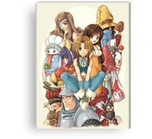 Heroes FF9 Canvas Print
