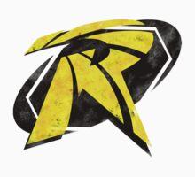 Robin Segmented Logo (White Background) Kids Clothes