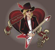 Tom Petty Portrait Baby Tee