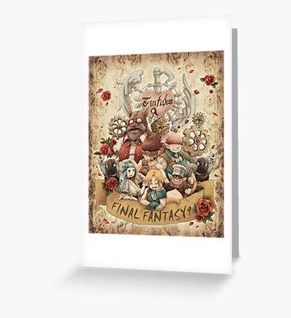 Nine Party Fantasy Greeting Card