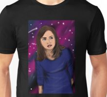 The impossible girl exploring in space Unisex T-Shirt