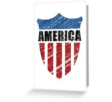 America Greeting Card