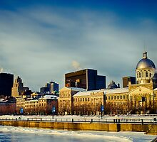 Old Montreal by Michael Vesia