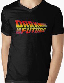Dark is the Future Mens V-Neck T-Shirt