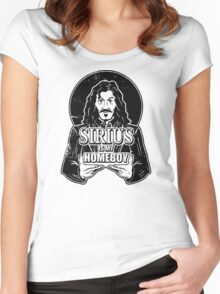 Sirius is my homeboy Women's Fitted Scoop T-Shirt