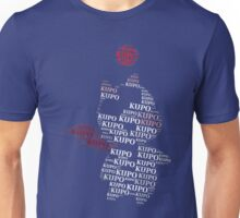 Moogle Typograhy Unisex T-Shirt