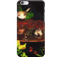 Bushtits at Bath iPhone Case/Skin