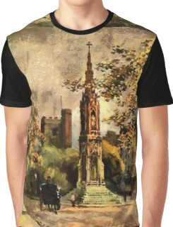 The Martyr's Memorial, Magdalen Street, Oxford 1853 Graphic T-Shirt