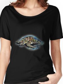 See Turtle Women's Relaxed Fit T-Shirt