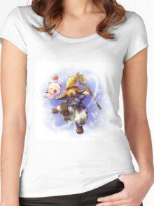 Vivi & Moguri Women's Fitted Scoop T-Shirt