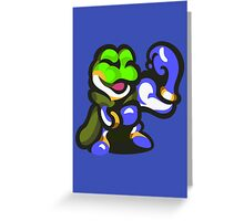 Frog Wins! Greeting Card