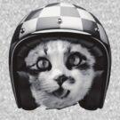 Biker Cat by WAMTEES