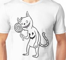 Creepy Cat Unisex T-Shirt