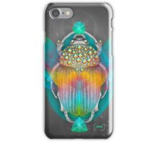 The Darkest Night Will End and the Sun Will Rise (Scarab) iPhone Case/Skin