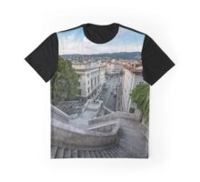 Giant's Stairway - Trieste Graphic T-Shirt