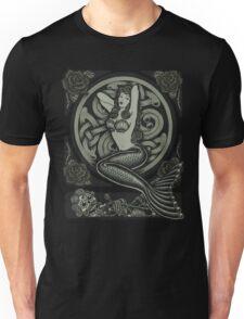 Vintage Classic Pinup Mermaid Unisex T-Shirt