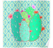 Pear Cactus Poster