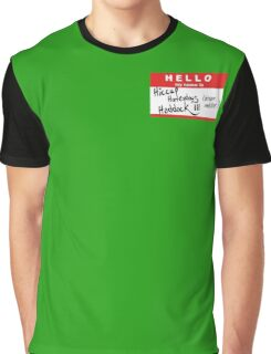 HELLO my name is: HICCUP (Dragon Master) Graphic T-Shirt