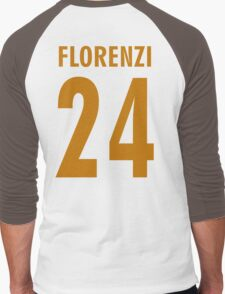 florenzi 24 Men's Baseball ¾ T-Shirt