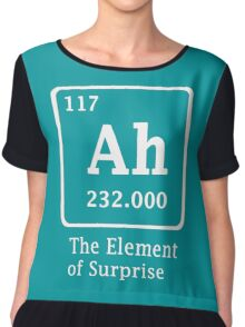 Ah !! the Element of Surprise Chiffon Top