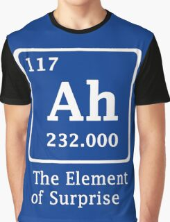 Ah !! the Element of Surprise Graphic T-Shirt