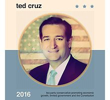 Ted Cruz 2016 Photographic Print
