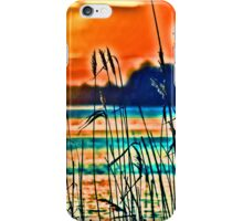 HDR Sunset with Spikes iPhone Case/Skin