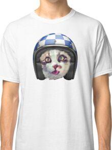 Biker Cat Classic T-Shirt