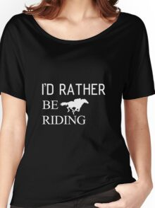 Riding horse and animal Women's Relaxed Fit T-Shirt