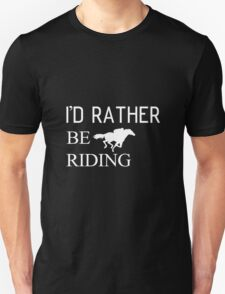 Riding horse and animal Unisex T-Shirt