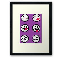 Boo Diddly Set Framed Print