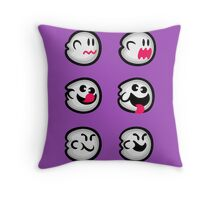 Boo Diddly Set Throw Pillow