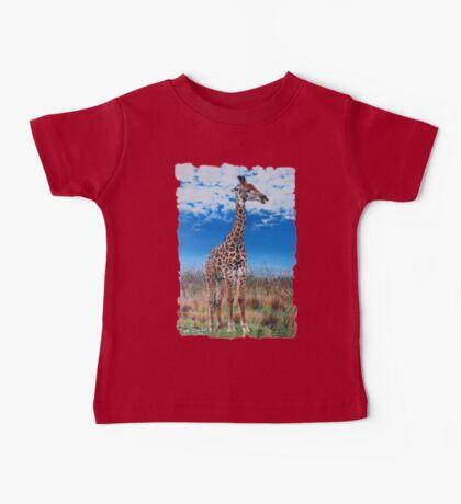 Giraffe Baby Tee