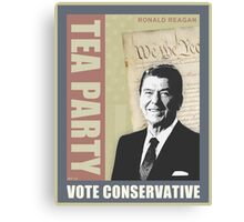 Vote Conservative Canvas Print