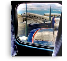 Scene from the Golden Age of Flight  in Color Metal Print