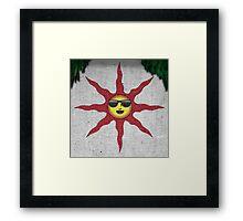 SunBro - Dark Souls Framed Print